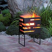 Design-Feuerkorb / Feuerschale FLAME aus Metall