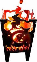 Design Feuerkorb Hexe