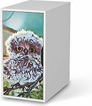 Design-Folie für IKEA Alex Schreibtisch-Schrank | Baby-zimmer Möbeltattoo Bedruckte Klebe-Folie | Ideen für Erlebnisraum Kinderzimmertapete | Kids Kinder Wuschel