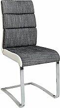 Design Freischwinger Stuhl WELLNESS Strukturstoff