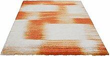 Design Frisée Teppich Umbria orange 120x170 cm