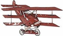 Design Garderobe im Doppeldecker Flugzeug Design Rot Pharao24