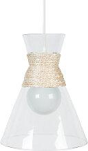 Design-Hängeleuchte aus Glas CONE