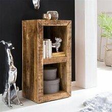 Design Holz Regal Natur B/H/T ca. 45/90/35cm