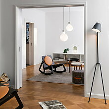 Design House Stockholm - Björk Teppich, hellgrau,