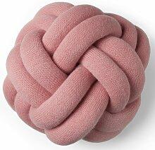 Design House Stockholm Knot Kissen Rosa (l) 30.00 X (b) 30.00 X (t) 15.00 Cm