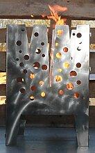 Design in Steel - Feuerkorb Puritanisch 40 x 40 cm