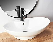 Design Keramik Oval Waschtisch Handwaschbecken