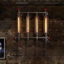 Design-kreative Persönlichkeit Wasser Rohr Wand