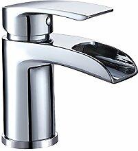 Design Kurzer Wasserfall Waschtischarmatur