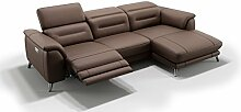 Design Leder Eckcouch Ecksofa Sofa Couchgarnitur