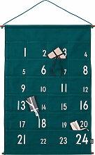 Design Letters - Adventskalender 24 Tage, grün