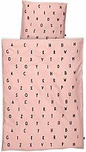 Design Letters - AJ Babybettwäsche, rosa