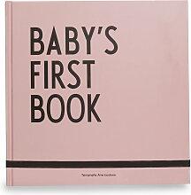 Design Letters - Baby's First Book, rosa (Sprache: Englisch)