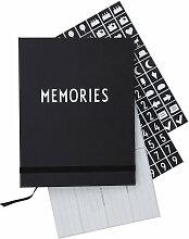 Design Letters - Fotobuch, schwarz