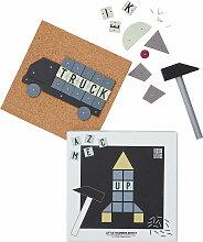 Design Letters - Hammer Artist Spielzeug Set,