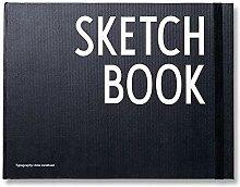 Design Letters Notizbuch Sketchbook