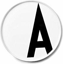 Design Letters persönlicher Porzellanteller