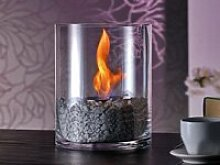 Design Lounge Feuer mit Bio-Ethanol