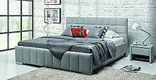 Design Luxus Lounge Polsterbett Doppelbett