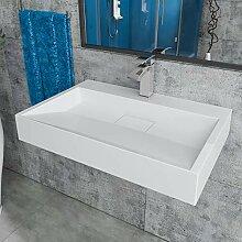 Design Mineralgusswaschtisch Waschbecken