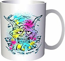 Design mit Demon Man Clown Neuheit 33 cl Tasse nn76