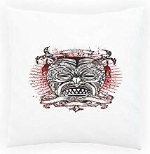 Design mit Demon Man Neuheit Dekoratives Kissen, Kissenbezug mit Einlage/Füllung oder ohne, 45x45cm nn75p