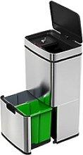 Design-Mülltrenn-System mit Sensor, 4 Behälter,