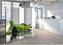 Design Paravent mit Wellness Motiv 225 cm breit