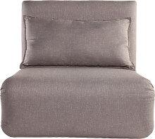 Design-Schlafsessel Verstellbar Taupe SLEEPER