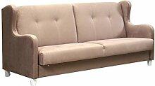 Design Schlafsofa Gala, Sofa mit Schlaffunktion