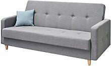 Design Schlafsofa Tango, Sofa mit Bettkasten und