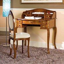 Design Schreibtisch und Stuhl im Barock Look