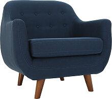 Design-Sessel Blau YNOK