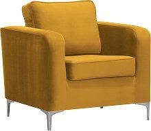 Design-Sessel Velours Gold HARRY