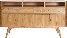 Design-Sideboard 4 Türen Esche NORDECO