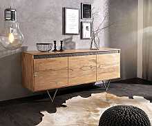 Design-Sideboard Stonegrace 175 cm Akazie Natur