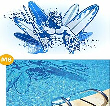 Design Skins Pool * Bodenmatte Swimmingpool *
