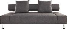 Design-Sofa 3 Sitzplätze MILANO Grau
