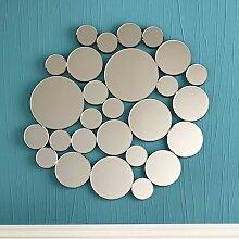 Design Spiegel mit runden Elementen modern