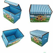 Design Spielzeugbox 38 cm x 26 cm x 27 cm
