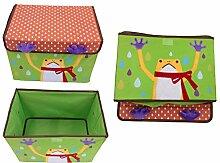 Design Spielzeugbox Frosch 38 cm x 26 cm x 27 cm