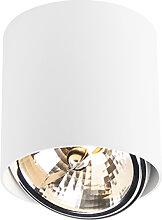Design Spot Zylinder weiß inkl. LED - Impact-Up G9