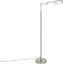 Design Stehleuchte Stahl inkl. LED mit Touch
