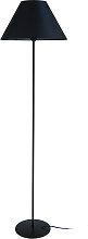 Design-Stehleuchte Stahl Schwarz CONEO
