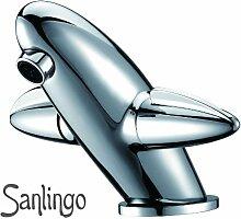 Design Style Waschbecken Armatur Chrom Sanlingo