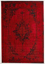 Design Teppich Vintage Used Antik rot 160 x 230 cm