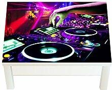 Design-Tisch DJ Pult B x H: 90cm x 55cm von Klebefieber®