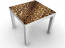 Design Tisch Jaguar Skin 55x45x55cm