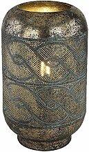 Design Tisch Lampe Wellen Orientalisch Klassisch